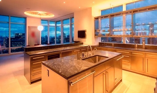 Luxury Kitchen with a view