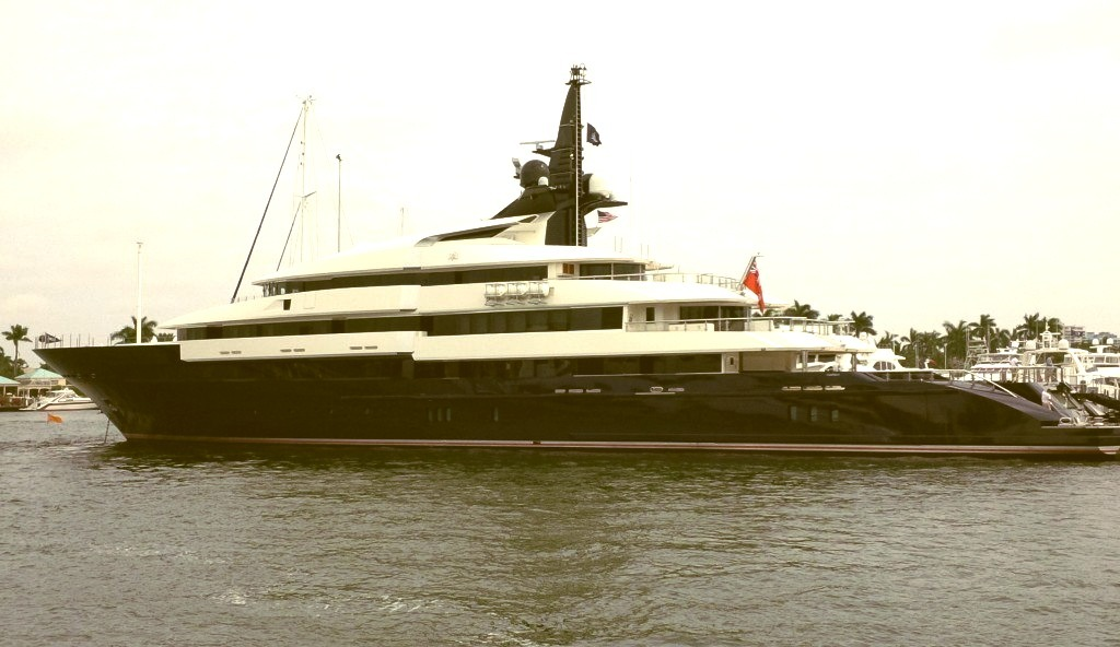 Huge Yacht