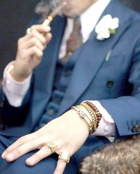 Luxury Fashion Photography and Cigar