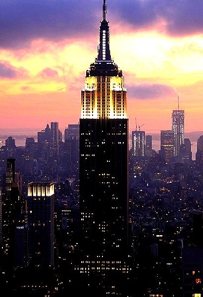 Beautiful Shot Of The Empire State Building